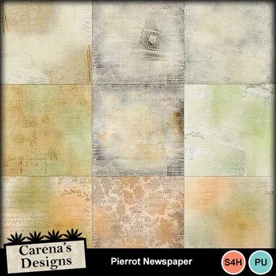 Pierrot-newspaper