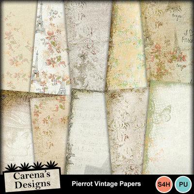Pierrot-vintage-papers