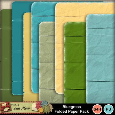 Bluegrassfoldedpaper