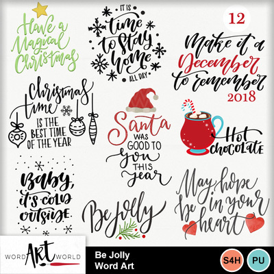 Be_jolly_word_art