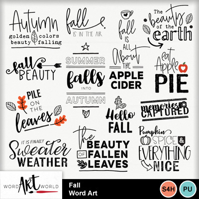 Fall_word_art
