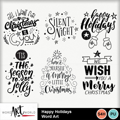 Happy_holidays_word_art