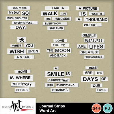 Journal_strips_word_art