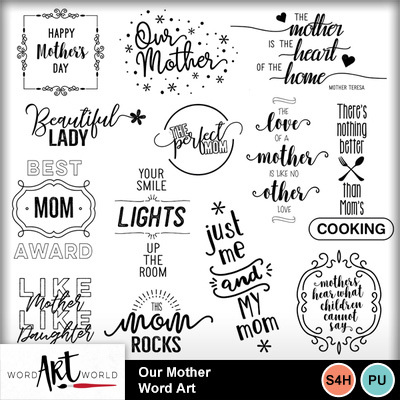 Our_mother_word_art