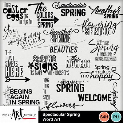 Spectacular_spring_word_art