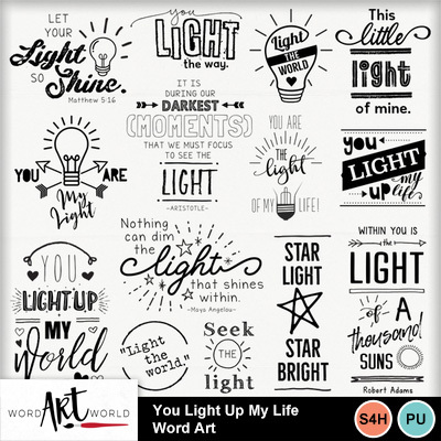 You_light_up_my_life_word_art