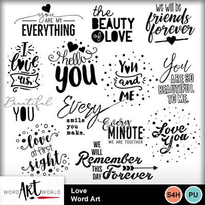 Love_word_art