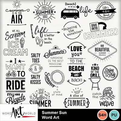 Summer_sun_word_art