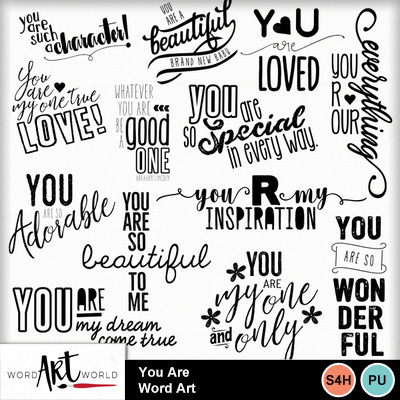 You_are_word_art
