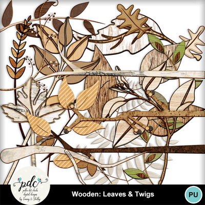 Pdc_mmnew600-wooden_leaves_and_twigs
