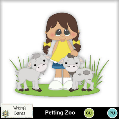 Clip Art Petting Zoo Clipart Set Whispy Animals Pets