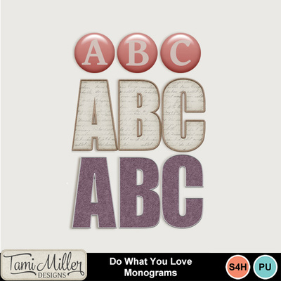 Do-what-you-love-monograms
