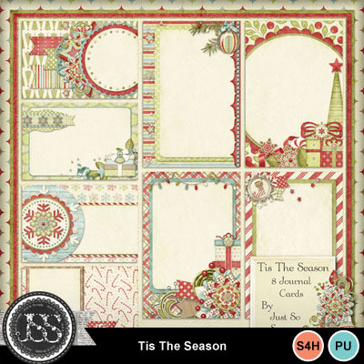 Tis_the_season_journal_cards