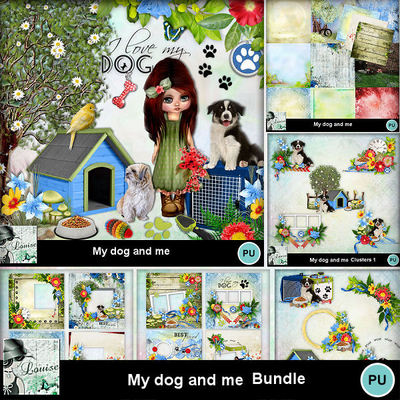 Louisel_my_dog_and_me_pack_preview