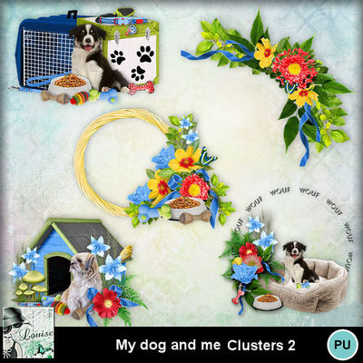 Louisel_my_dog_and_me_clusters2_preview