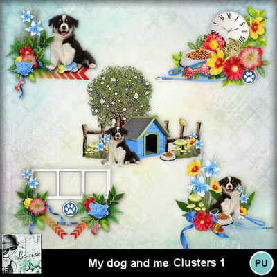 Louisel_my_dog_and_me_clusters1_preview