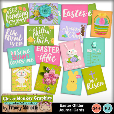 Cmg-easterglitter-journal-cards