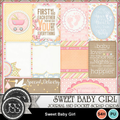 Sweet_baby_girl_pocket_cards