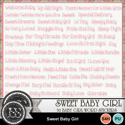 Sweet_baby_girl_word_stickers