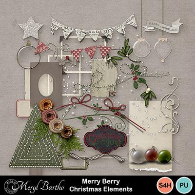 Merryberrychristmas_elements