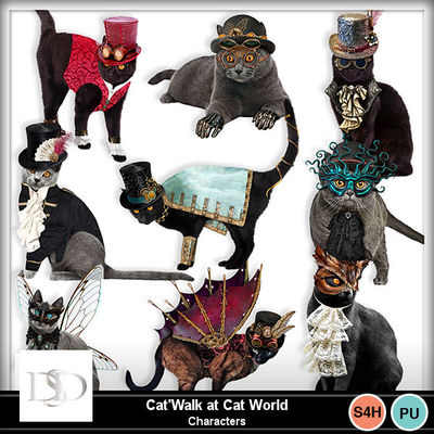 Dsd_catwalktocatworld_characters