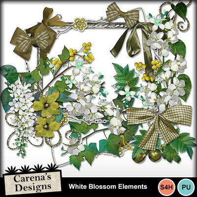White-blossom-elements