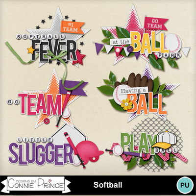 Softball_word_art