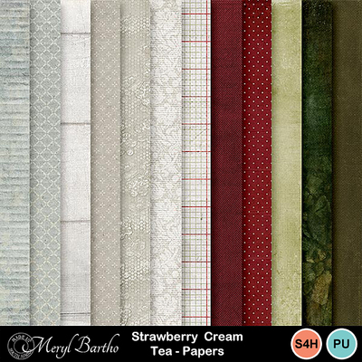 Straberry_creamtea_papers