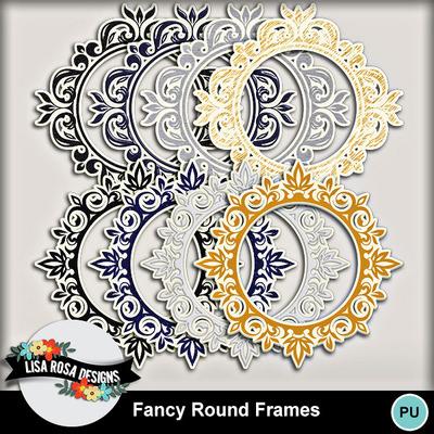 Lisarosadesigns_fancyroundframes