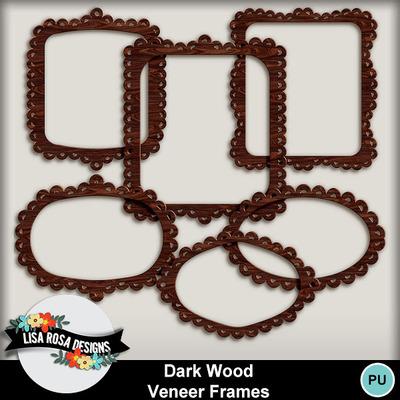 Lisarosadesigns_darkwoodveneerframes