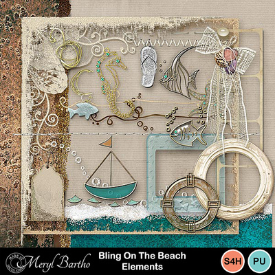 Blingonthebeach-elements