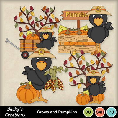 Crows_and_pumpkins