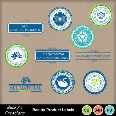 Beauty_labels