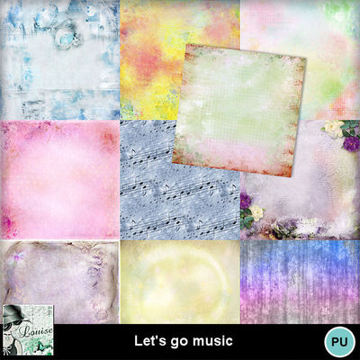 Louisel_lets_go_music_papiers1_preview
