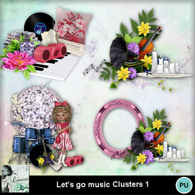 Louisel_lets_go_music_clusters1_preview