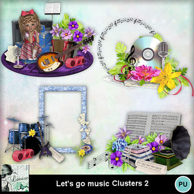 Louisel_lets_go_music_clusters2_preview