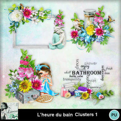 Louisel_lheure_du_bain_clusters1_preview