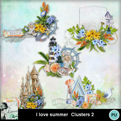 Louisel_i_love_summer_clusters2_preview