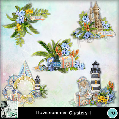 Louisel_i_love_summer_clusters1_preview