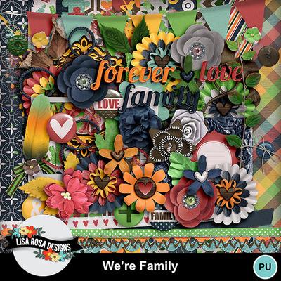 Lisarosadesigns_werefamily_fullkit