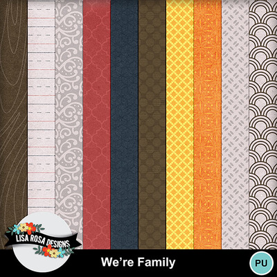 Lisarosadesigns_werefamily_papers2