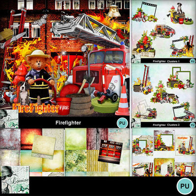 Louisel_firefighters_pack_preview