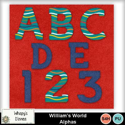 Wdwilliamsworldalphapv