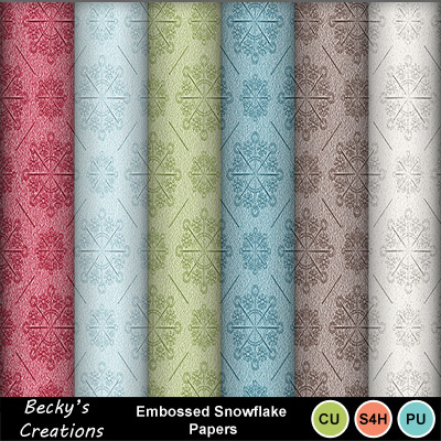 Embossed_snowflake_papers