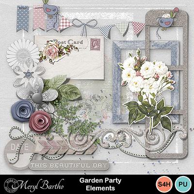 Gardenparty-elements