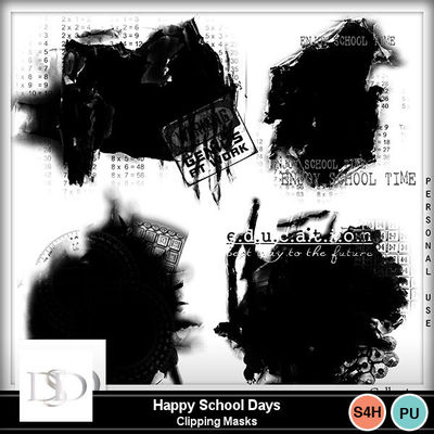 Dsd_happyschooldays_masks