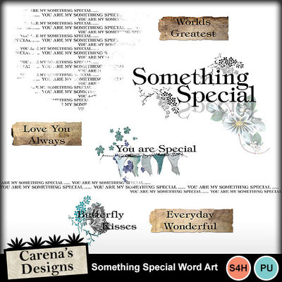 Something-special-word-art