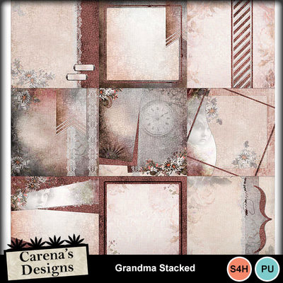 Grandma-stacked-papers