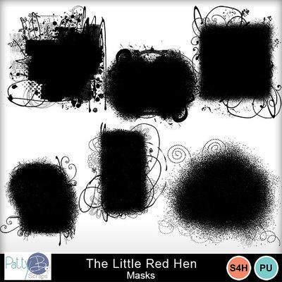 Pbs_the_little_red_hen_masks
