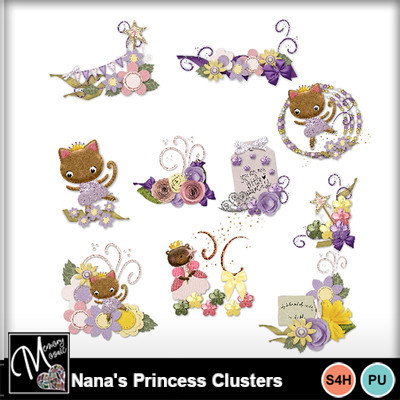 Nana_s_princess_clusters
